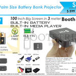 Innovative Q1 Battery Bank Projector