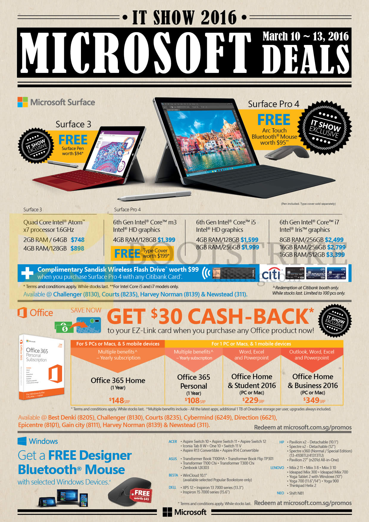 microsoft tablets surface 3 surface pro 4 office 365 home 365