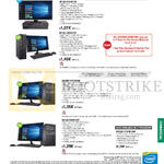 Desktop PCs Asuspro BP1AD-I34150416F, BP1AE-I54590105F, D810MT-I54570019F, BM1AE-I54590187F, I74790188F