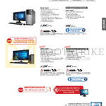 Desktop PCs M32CD-SG005T, SG001T, K20CD-SG003T, SG002T