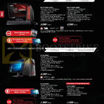 Desktop PCs ROG DT G20CB-SG007T, G20CB-SG006T, G11CB-SG006T, G11CB-SG004T, G11CD-SG001T