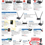 Networking Wireless Routers, ADSL, Repeaters, PCI-E Adapter, USB