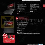 Notebooks ROG G501JW-FI201H, G501JW-FI072H, GL552VW-CN227T