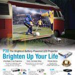 Projectors P3B, S1, B1MR