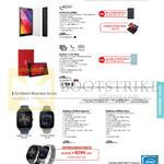 Tablets, Watches, Zenpad 8.0 Z380L, C 7.0 Z170CG, Zenwatch 2 WI501Q Sparrow, WI502Q Wren