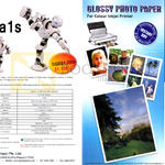Alpha Digital Alpha 1s Intelligent Robot, Glossy Photo Paper