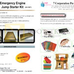 Alpha Digital Emergency Engine Jump Starter Kit AD-A07, 7 Corporation Corporate Gifts