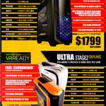 Desktop PCs Gamer Stage 2 Skylake, GeForce GTX VR Ready, Ultra Stage 2 Skylake