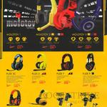 Headsets Gaming, Earphones, Molotov 1, 3, 5, Fuze 3C, 5, 7, 9, Pulse 5, 7, Mark 5, Nuke 7