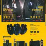 Speakers, Mouses, SRO-5 Havoc III, NRO-5 Starship III, Alien Craft IV G17, Panzer III, V, Armageddon A7