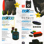Audio Box Speakers Bluetooth BBX300, BBX5, P1000, P5000v, P2000BTMI, BNP3000, K800 BTMI