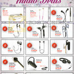 Best Denki Audio Earphones, Bluetooth Headsets, Headphones, Studio TVA, Klipsch, Jabra, Plantronics, Ultimate Ears