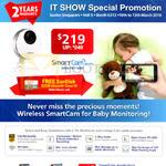 Convergent Samsung SmartCam IPCam SNH-P6410BN