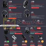 Headsets Mouse, Sirus-C, Pulse-R, Ceres-500, Resonar, Pitch, Xornet, Sentinel, Alcor, Havoc, Reaper, Recon, Mizar, Swift