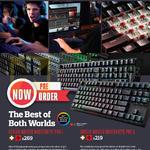 Keyboards Mechanical Masterkeys Pro L, Pro S