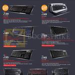 Mechanical Keyboards Trigger-Z, Mech, Quick Fire XTI, Rapid-i, Ultimate, TK, Devastator, Octane