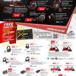 Headphones Sound Blaster X H7, G5, H5, H3, P5, H5 Special Edition, Draco HS880, Tactic3D Fury, EVO ZxR, Evo Zx, Wireless, E3, E5, SB Inferno, AB Blaze