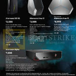 Alienware Desktop PCs X51 R3, Area 51, Alpha