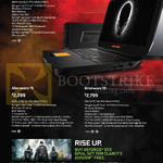 Alienware Notebooks 13, 15