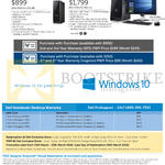 Desktop PCs Inspiron 3000 Series, XPS 8900 Desktop