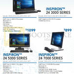 Newstead Desktop PCs, AIO, Inspiron 24 3000, 24 5000, 24 7000 Series