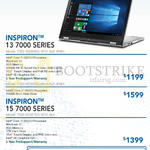 Newstead Inspiron Notebooks 13 7000, 15 7000 Series