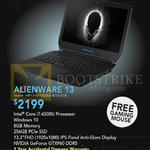 Newstead Notebook Alienware 13