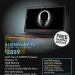 Newstead Notebook Alienware 17