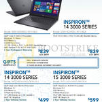 Newstead Notebooks Inspiron 14 3000, 15 3000 Series