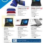 Notebooks Inspiron 11 3000, 14 3000, 14 5000, 15 5000 Series