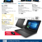 Notebooks Inspiron 15 7000, 13 7000, 15 Gaming Series