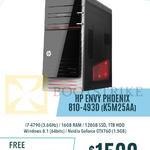 Newstead Desktop PC Envy Phoenix 810-493D K5M25AA