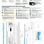 Scanners ScanJet Pro 1000, 3000 X2, Mobile Printers OfficeJet 100, 150, How To Redeem Free Gifts