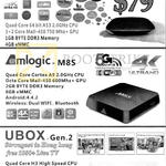 J2 Xiaomi TV Box, Amlogic M8s, Ubox Gen 2