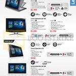 AIO Desktop PCs Yoga Home 900, Ideacentre AIO 700, 300, C20