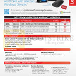Free Designer Bluetooth Mouse, Notebooks, Desktops Warranty Services
