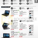 Notebooks ThinkPad X260, T450S, T460S