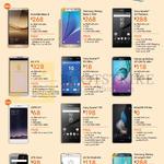 M1 Mobile Phones Huawei Mate 8, P8 Lite, Samsung Galaxy Note 5, A7, S6 Edge Plus, Sony Xperia Z5 Premium, C5 Ultra, Z5, LG V10, G4 Dual, Oppo F1, ZTE Axon