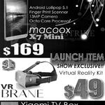 Nasa Mi Macoox X7 Mini, Virtual Reality Kit, VR Brane, Xiaomi TV Box