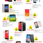 NewStar Mobile Phones Asus Zenfone 5, 6, 1s, Mi 3, 4, Mi Pad, Xiaomi Redmi 1s, Lenovo A889, S939, A850 Plus, Redmi Note