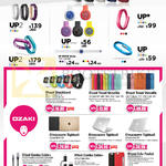 Jawbone Fitness Trackers, Cables, UP, UP2, UP3, O Coat Shockband, Travel Versatile, Macworm Tightsuit, Combo Cable Plus