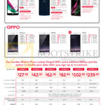 Singtel Mobile Phones, Combo Plans LG, Oppo, G4, V10, Class, Neo7, R7s, F1, Combo 1, 2, 3, 4, 6, 12
