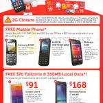 Singtel Prepaid Mobile Phones Samsung E3309, J1 Ace, Alcatel Onetouch 2052, Phicomm C230, Leagoo Lead 6