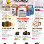 Sonicgear Speakers Pandora Series Neo 500, 200, Neon 300, Neo Classic 800, 600, Evo 5 Pro BTMI, 7 Pro, 9 BTMI, Titan 9
