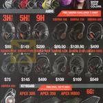 Siberia 200 Gaming Headset 3HV2, 5HV3, 9H, Siberia 100, 150, 800, P100, P300, P800, X100, X300, X800, 650, Apex 300, 350, M800, 6GV2