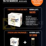 Tai Fibaro Starter Kit, Premium Package, HC Lite, Smoke Detector, Motion Sensor