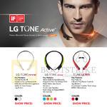 Treoo Bluetooth Headsets LG Tone Infinim, Active, Tone Ultra