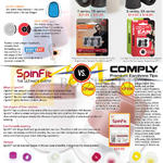 Treoo Earphones Spinfit Vs Comply, Silicone Vs Foam