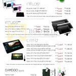 Graphic Pen Tablets Intuos, Pro, Cintiq, Bamboo Spark