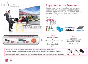 LG Comex 2010 Star Promotion